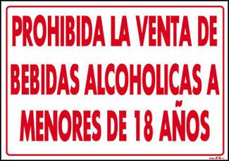 Resultado de imagen de prohibido vender alcohol