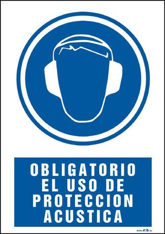 obligatorio el uso de proteccion acustica